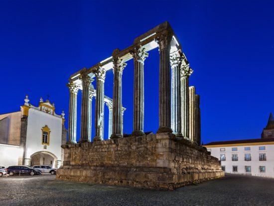 Évora Património Mundial Semana de pausa em Portugal