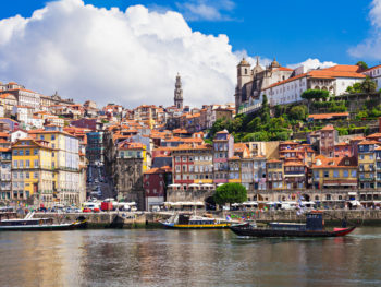 Porto_Portugal_cityscape from water