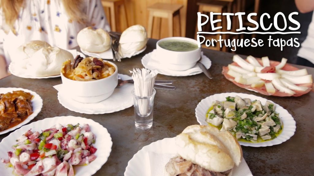 Petiscos (also known as Portuguese tapas)